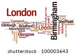 uk cities | Shutterstock . vector #100003643