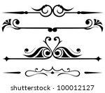 raster version  decorative... | Shutterstock . vector #100012127