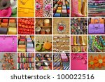 accessories collection - stock photo