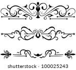 raster version  decorative... | Shutterstock . vector #100025243