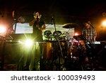 seattle   april 10   indie rock ...   Shutterstock . vector #100039493
