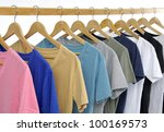 set of choice of man clothes of ... | Shutterstock . vector #100169573