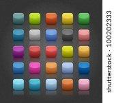 25 popular color blank web... | Shutterstock .eps vector #100202333