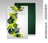 modern brochure design | Shutterstock .eps vector #100202843