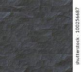 seamless pattern of slate tiles | Shutterstock . vector #100256687
