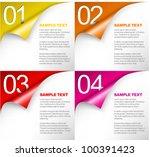 vector paper progress... | Shutterstock .eps vector #100391423