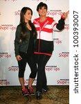 kim kardashian and kris jenner...   Shutterstock . vector #100393007
