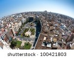 View Of The Roofs Of Valencia ...