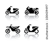 set of transport icons  ... | Shutterstock .eps vector #100439497