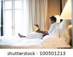 asian business man in room | Shutterstock . vector #100501213