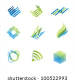 vector design elements | Shutterstock .eps vector #100522993