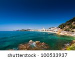 seafront of lloret de mar | Shutterstock . vector #100533937