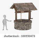 3d render of cartoon character... | Shutterstock . vector #100550473