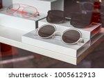 various of sun glasses in the... | Shutterstock . vector #1005612913