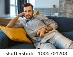 bachelor man daily routine in...   Shutterstock . vector #1005704203