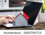 close up of a businessperson's... | Shutterstock . vector #1005704713