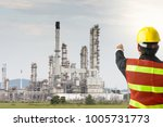 petrochemical engineering man...   Shutterstock . vector #1005731773