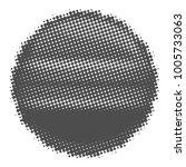cricket ball halftone style on... | Shutterstock .eps vector #1005733063