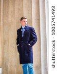 portrait of american teenage...   Shutterstock . vector #1005741493