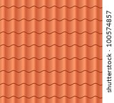 Seamless Terracota Roof Tile  ...