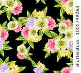 abstract elegance seamless... | Shutterstock . vector #1005749263