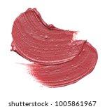 texture of lipstick isolated on ... | Shutterstock . vector #1005861967