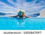 woman enjoying relaxation in... | Shutterstock . vector #1005867097