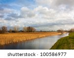 Floodplain With Reed And Banks...