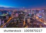 colorful nanjing night | Shutterstock . vector #1005870217
