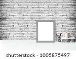 mock up poster or photo frame... | Shutterstock . vector #1005875497