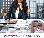 architects  interior designers  ... | Shutterstock . vector #1005884707