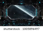 spaceship grunge interior with... | Shutterstock . vector #1005896497