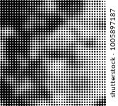 halftone black and white | Shutterstock .eps vector #1005897187