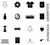 soccer icon set | Shutterstock .eps vector #1005897373