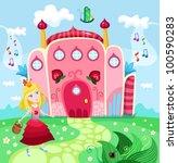 castle | Shutterstock .eps vector #100590283
