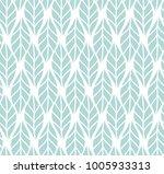 vector illustration of leaves... | Shutterstock .eps vector #1005933313