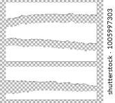 set of realistic vector torn...   Shutterstock .eps vector #1005997303