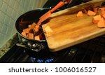 preparing dinner   homemade...   Shutterstock . vector #1006016527
