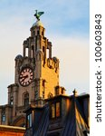 the royal liver building on the ...