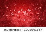 hearts shape of a valentine's... | Shutterstock . vector #1006041967