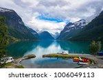 family vacation travel rv ... | Shutterstock . vector #1006049113