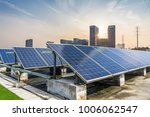 solar and modern city skyline | Shutterstock . vector #1006062547