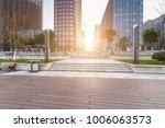 modern building and beautiful... | Shutterstock . vector #1006063573