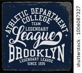 vintage varsity graphics and... | Shutterstock .eps vector #1006087327