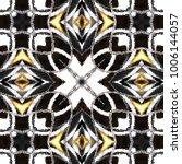 melting colorful symmetrical... | Shutterstock . vector #1006144057