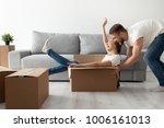 happy couple having fun...   Shutterstock . vector #1006161013