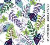 colorful trendy vector seamless ... | Shutterstock .eps vector #1006174717