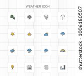 weather icons   05 | Shutterstock .eps vector #1006180507