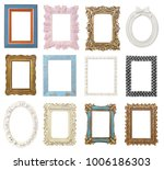 picture frames collection... | Shutterstock . vector #1006186303