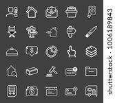 business icon set with price